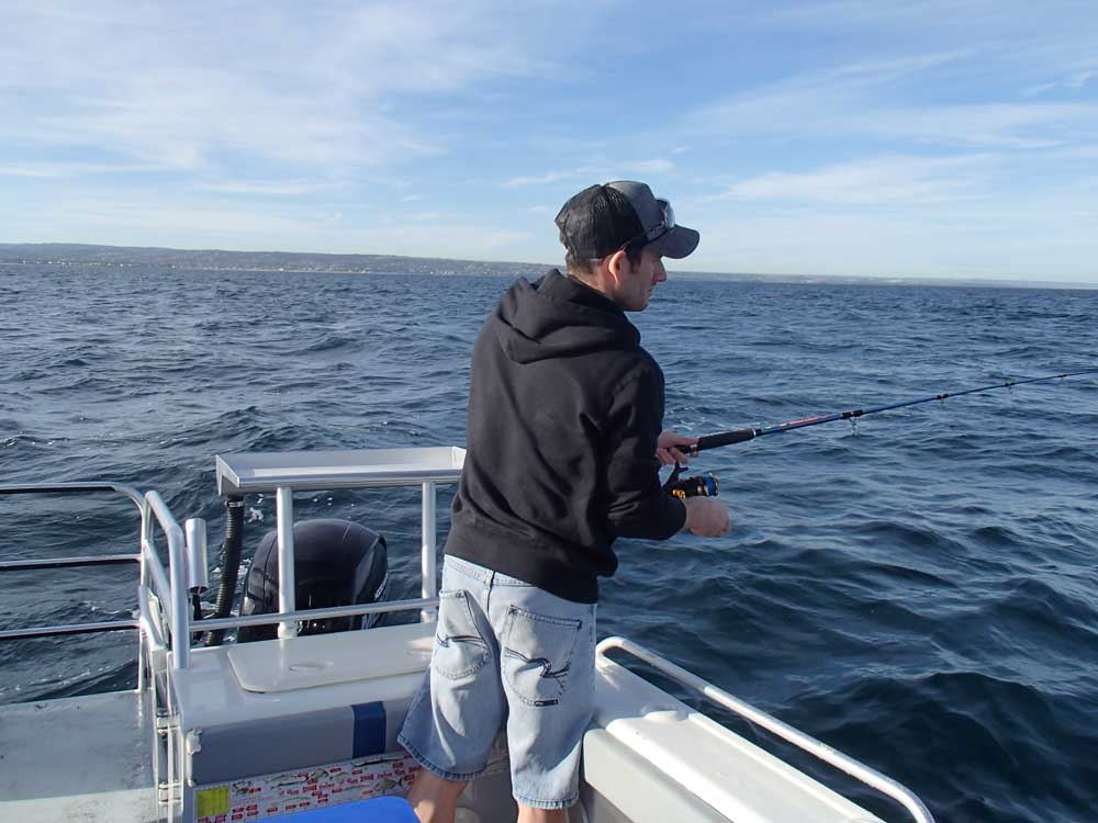 Go get em fishing charters adelaide fishing trips for Charter fishing trip