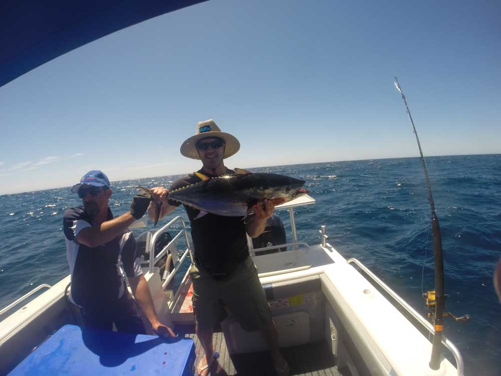 Tuna fishing charters adelaide for Charter fishing trip