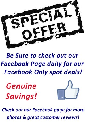 Facebook Only Specials