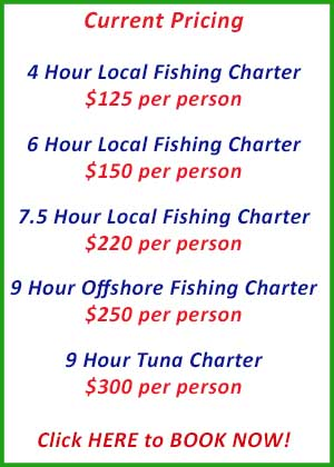 Go Get Em Fishing Charters Adelaide Special Pricing