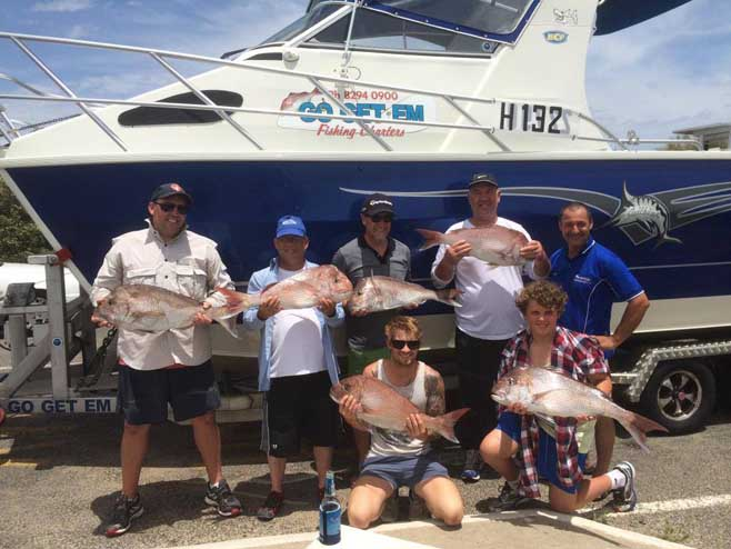 Contact GO GET 'EM® FISHING CHARTERS Adelaide