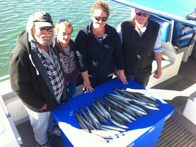 Fishing off Adelaide South Australia