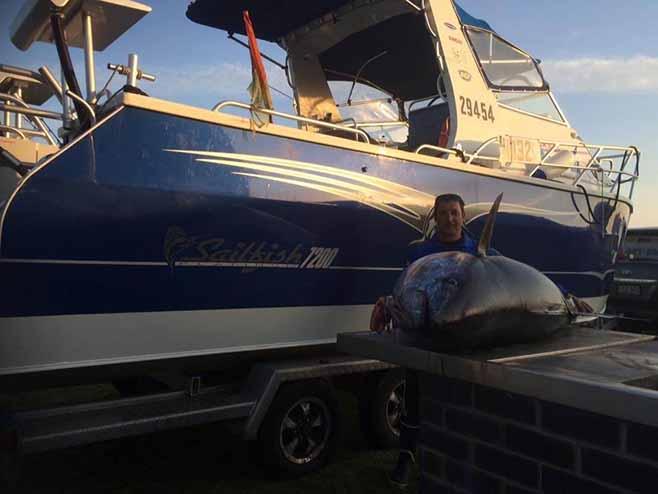 Barrel Tuna Fishing Charters Port MacDonnell SA